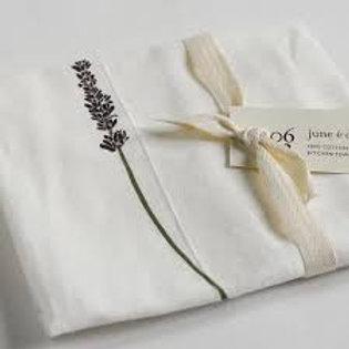 Lavender Flour Sack Tea Towel