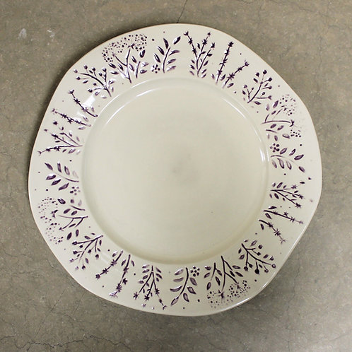 Pure Lila Dinner plate Set of 4