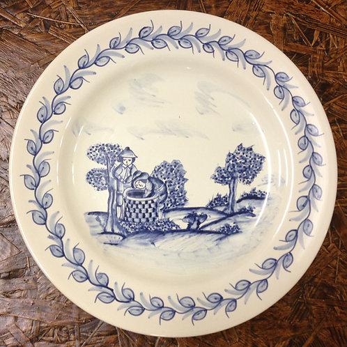 Olive Harvest Dinner Plate