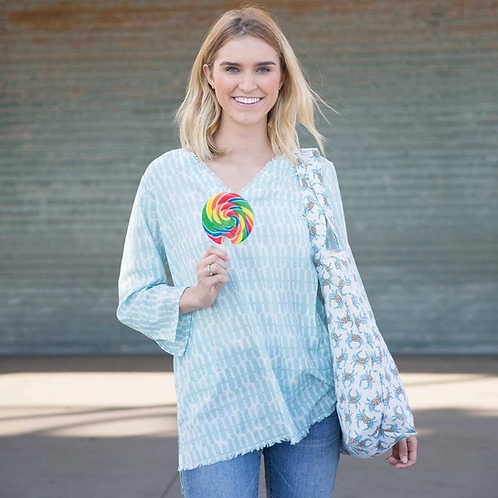 Ocean Cotton Pocket Tunic