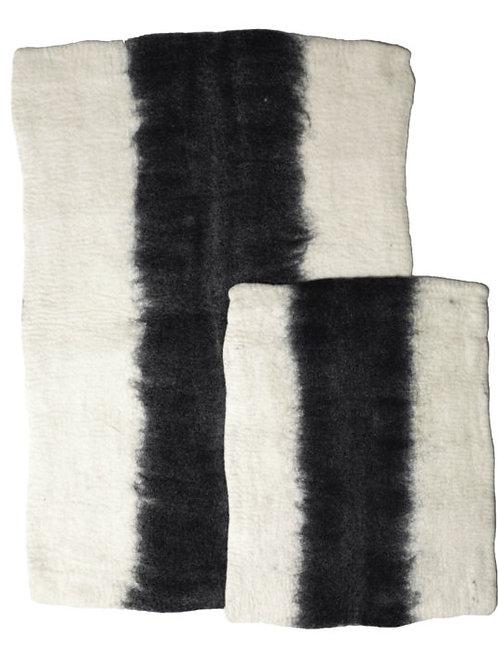 Ombre Wool Mats