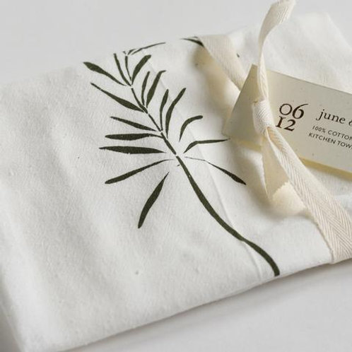Rosemary Flour Sack Tea Towels