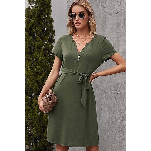 Notched Dress