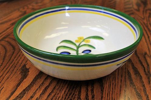 Oliva Azul Medium Serving Bowl
