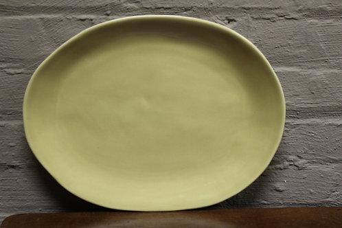 Provence Creme Large Oval Serving Platter