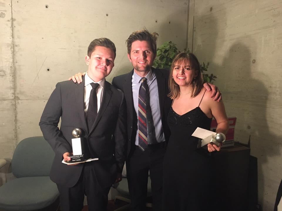 Adam Scott with 2016's winners