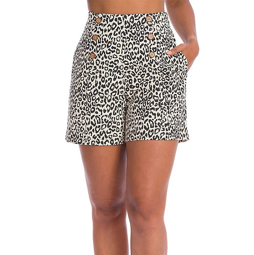 Wild Child Shorts in Cream