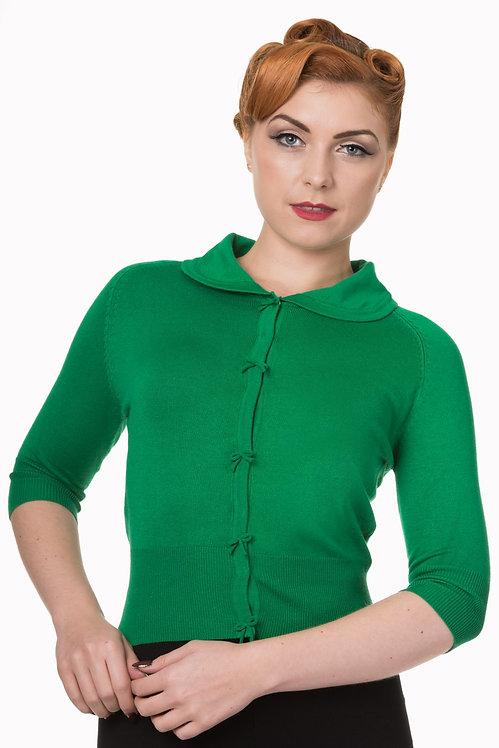 Green April cardigan