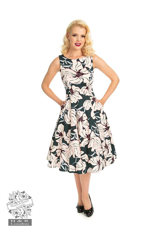H&R Emerald Floral Dress