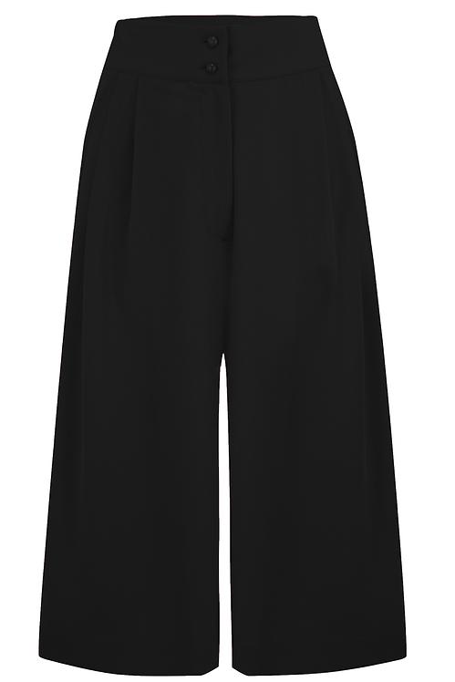 Sophia Plazo Culottes in Black
