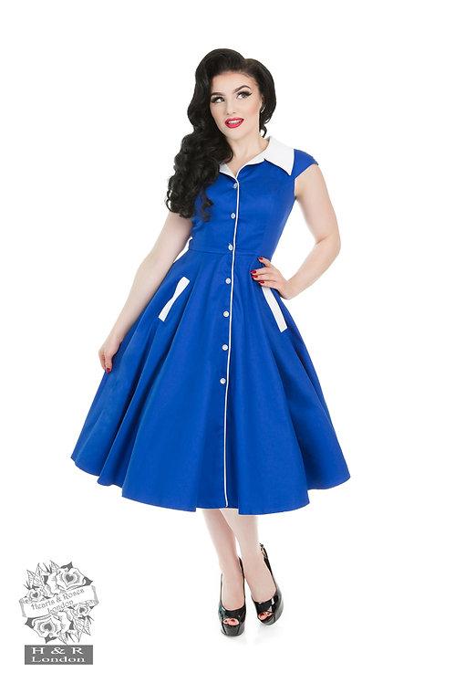 H&R Contrast Swing Dress