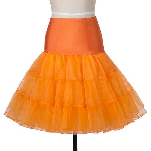 Light Petticoat in Orange