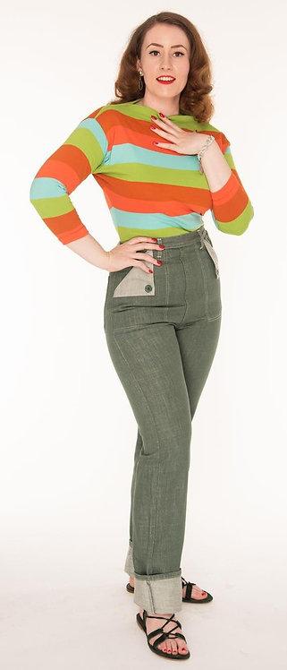 Freddies of Pinewood Green Utility Jeans