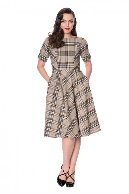 Banned Checked Dress