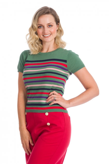 Memory Lane Stripe Knit
