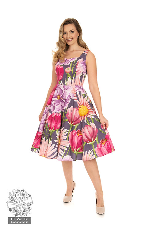 Denise Floral Swing Dress