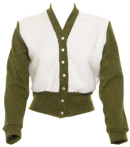 Sage Green 1940's Cardigan