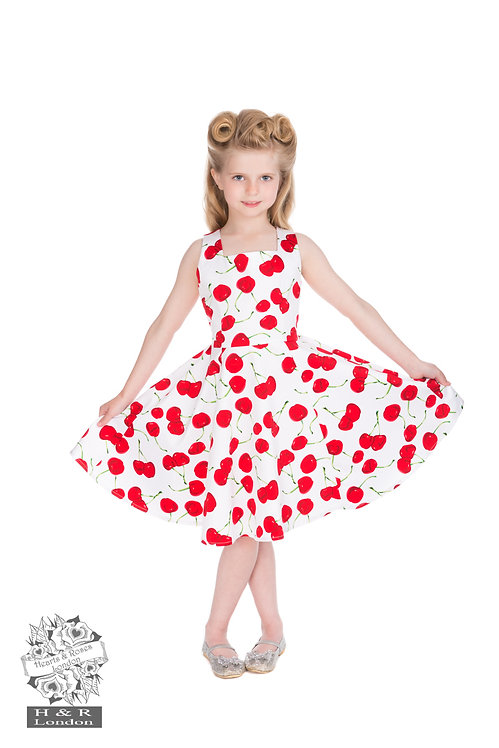 Cherry Swing Dress