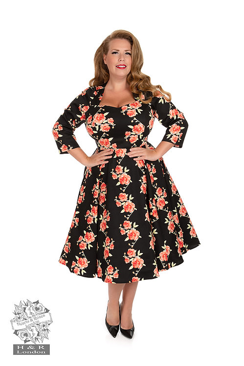 Juliet Floral Swing Dress