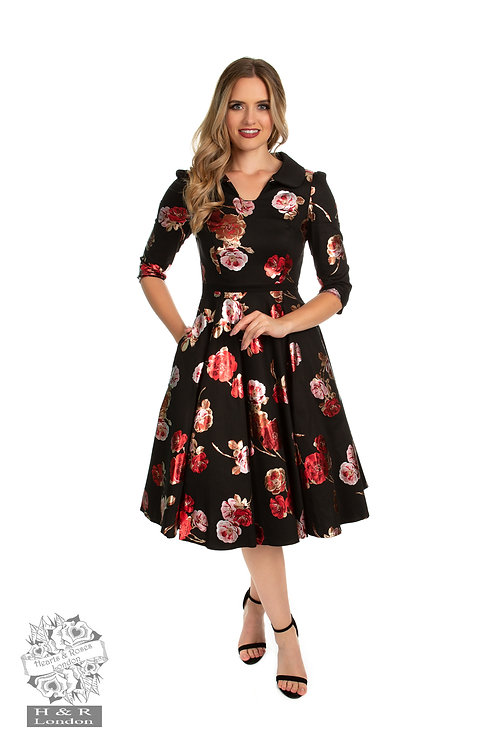 H&R Rose Metalic Dress