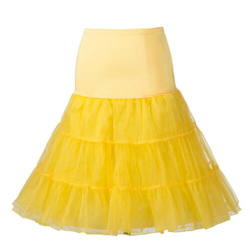 Light Petticoat in Yellow
