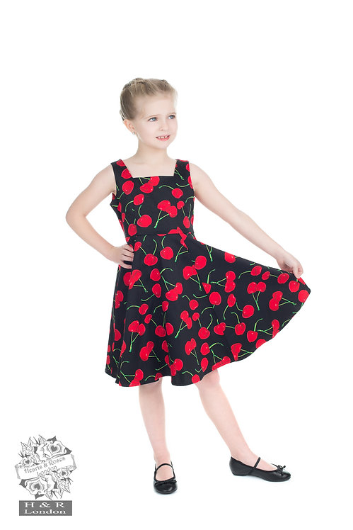 Black Cherry Swing Dress