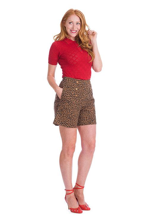 Wild Child Shorts in Brown