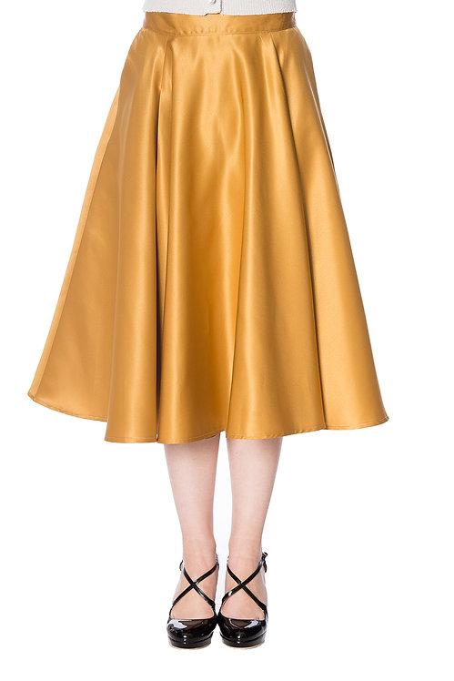Gold Swing Skirt