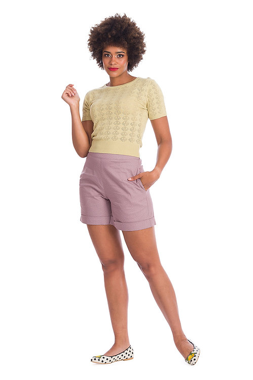 Spot Perfection Shorts in Lilac