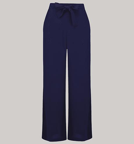 """Seamstress of Bloomsbury Winnie Trousers """"Navy"""""""