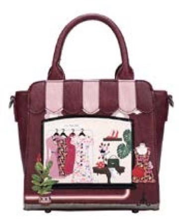 'Vendula' Vintage Mini Tote Bag