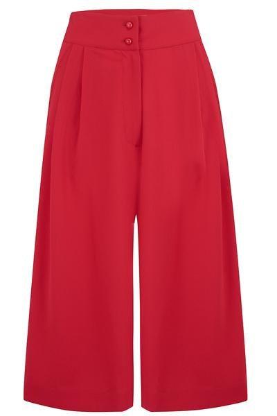Sophia Plazo Culottes in Red