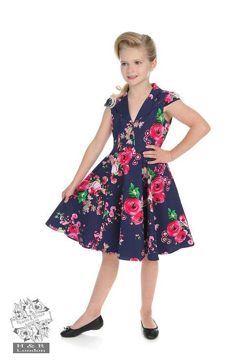 Garden Floral Swing Dress
