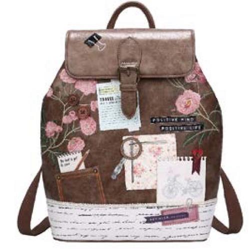 'Vendula' Vintage Stationary Backpack