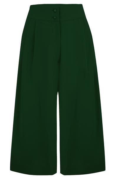 Sophia Plazo Culottes in Green