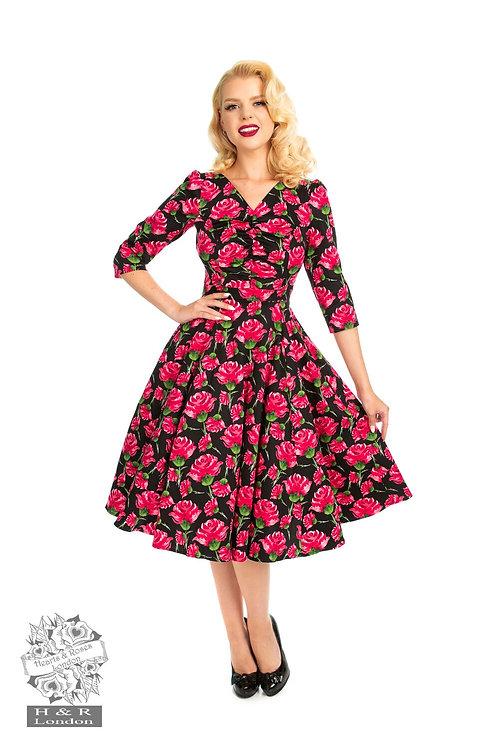H&R Pink Rose Dress