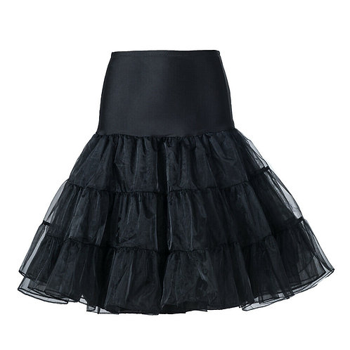 Light Petticoat in Black