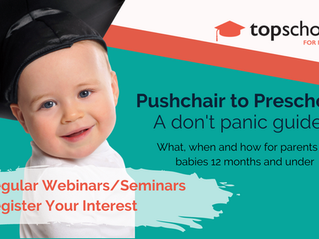 Pushchair to Preschool: A Don't Panic Guide