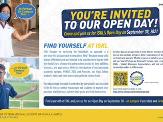 Find Yourself at ISKL's Open Day this September 30!