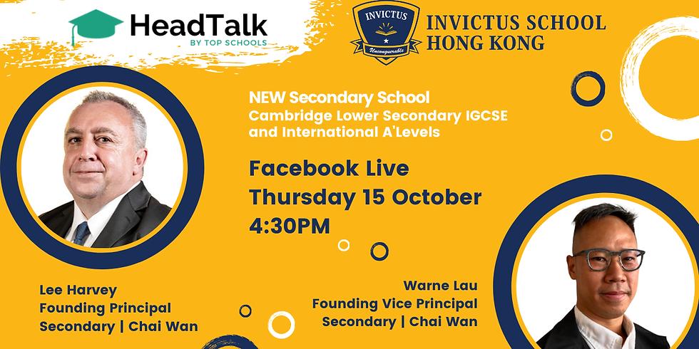 HeadTalk with Invictus School