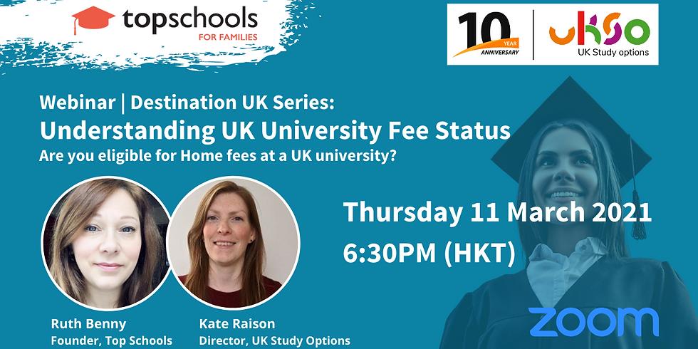 Understanding UK University Fee Status