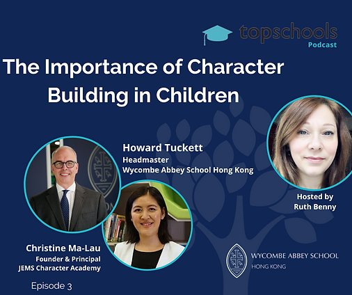 Character Building in kids