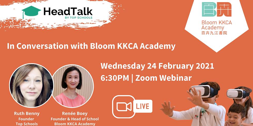 HeadTalk: In conversation with Bloom KKCA Academy