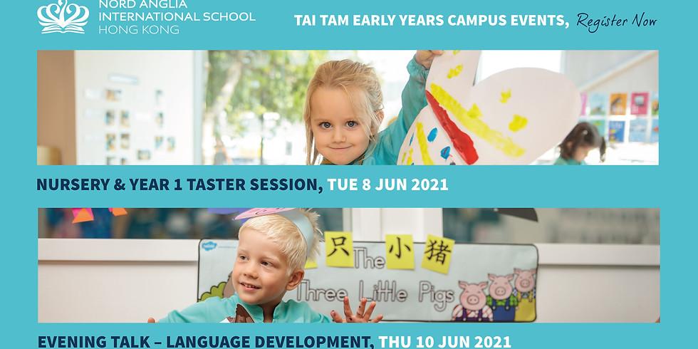 Evening Talk - Language Development