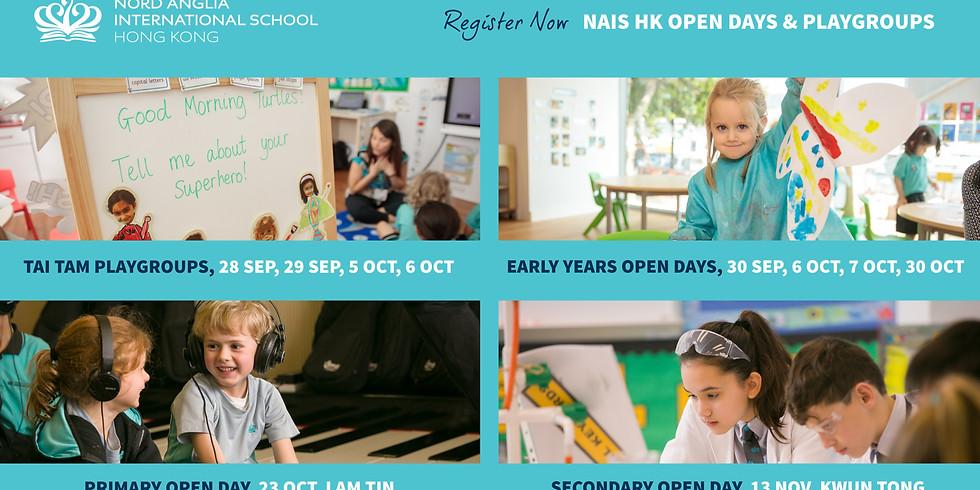 NAIS HK Open Days & Playgroups