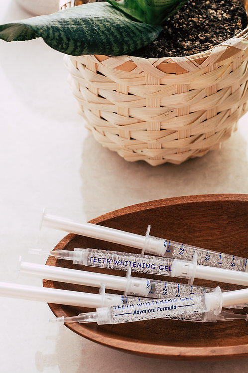 Hydrogen Peroxide FREE Teeth Whitening Syringe