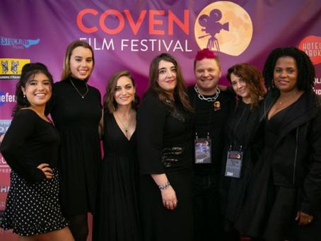 Filmmaker Heaven at Coven Film Festival