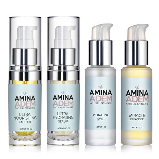 The Artistic Beauty of Skincare: Amina Adem