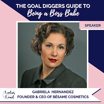 Gabriela Hernandez Besame Cosmetics