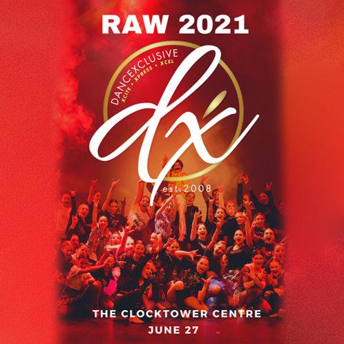 "DanceXclusive ""RAW"" Mid-Year Showcase 2021"